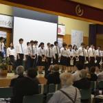 7高山村中学3年生の発表