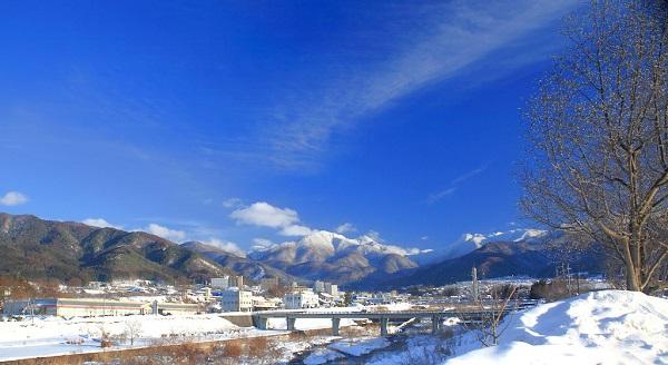 湯田中の冬